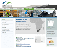 Realm Resources Limited Website Link