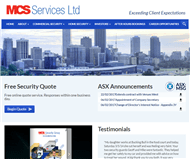 MCS Services Limited Website Link