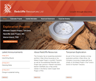Redcliffe Resources Limited Website Link