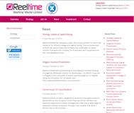 Reeltime Media Limited Website Link