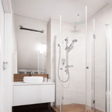 Shower System Package Square