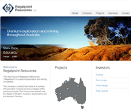 Regalpoint Resources Limited Website Link