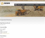 Regis Resources Limited Website Link