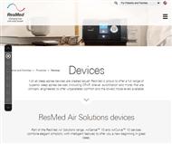 Resmed Inc Website Link