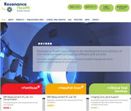 Resonance Health Limited Website Link