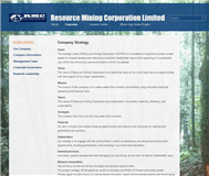 Resource Mining Corporation Limited Website Link