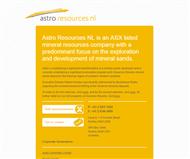 Astro Resources NL Website Link