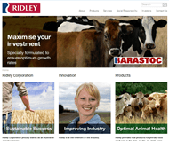 Ridley Corporation Limited Website Link