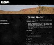 Riedel Resources Limited Website Link