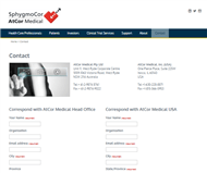 AtCor Medical Holdings Limited Website Link