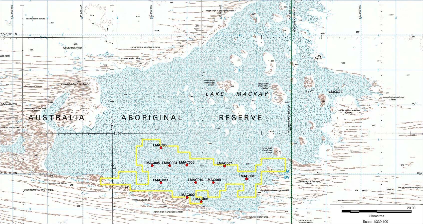 Lake Mackay JV Area