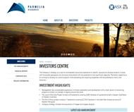 Parmelia Resources Limited Website Link