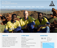 Atlas Iron Limited Website Link