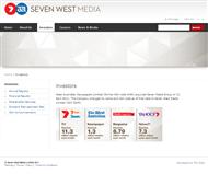 Seven West Media Limited Website Link