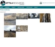 Attila Resources Limited Website Link