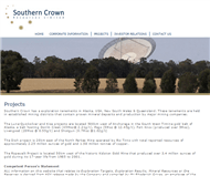 Southern Crown Resources Limited Website Link