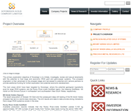 Sovereign Gold Company Limited Website Link