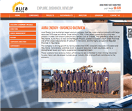 Aura Energy Limited Website Link