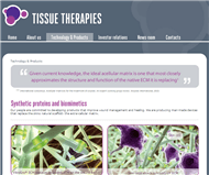 Tissue Therapies Limited Website Link