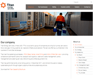 Titan Energy Services Limited Website Link