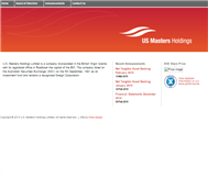 US Masters Holdings Limited Website Link