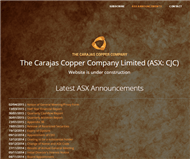 The Carajas Copper Company Limited Website Link