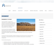 Austin Exploration Limited Website Link