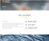Western Mining Network Limited Website Link