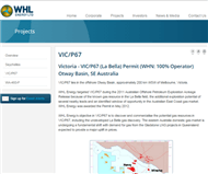 WHL Energy Limited Website Link