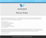 Wilson Group Limited Website Link
