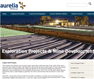 Aurelia Metals Limited Website Link