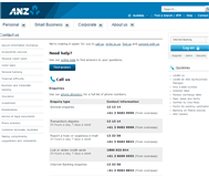 Australia and New Zealand Banking Group Limited Website Link