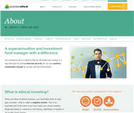 Australian Ethical Investment Limited Website Link