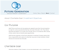Future Generation Investment Company Limited Website Link