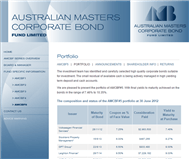 Australian Masters Corporate Bond Fund No 5 Limited Website Link