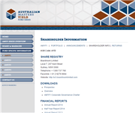 Australian Masters Yield Fund No 1 Limited Website Link