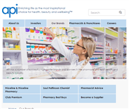 Australian Pharmaceutical Industries Limited Website Link
