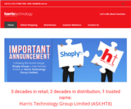 Harris Technology Group Limited Website Link