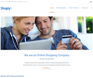 Shoply Limited Website Link