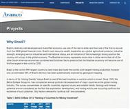 Avanco Resources Limited Website Link
