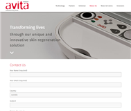 Avita Medical Limited Website Link