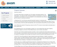 Axiom Mining Limited Website Link