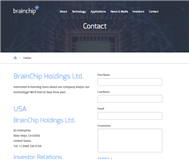 BrainChip Holdings Ltd Website Link