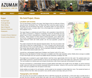 Azumah Resources Limited Website Link