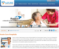 Azure Healthcare Limited Website Link