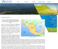 Azure Minerals Limited Website Link