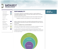 Bathurst Resources Limited Website Link