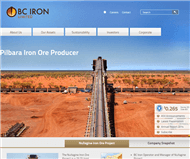 BC Iron Limited Website Link