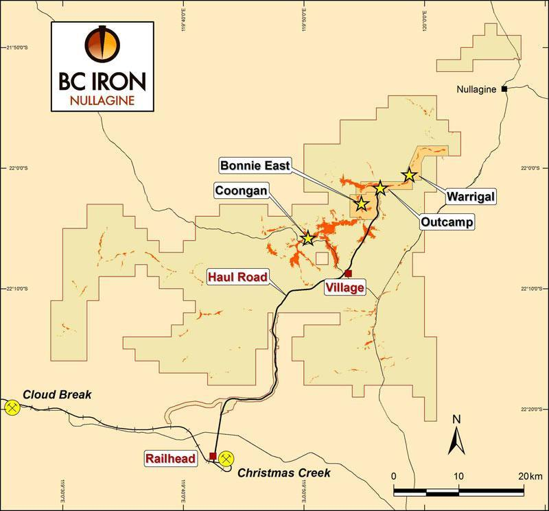 BC Iron project location