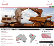 Beadell Resources Limited Website Link